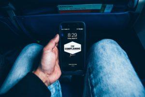 Eingabe einer Beschwerde via Smartphone