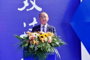 Ansprache von Yue Tang, Vorstandsvorsitzender der Truking Technology Ltd., zum 20-jährigen Firmenjubiläum