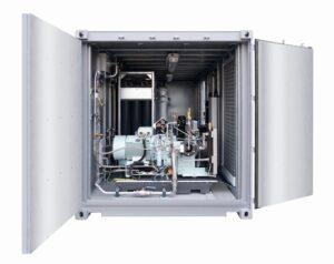 ATEX-konforme Container-Lösung für eine Erdgasanlage